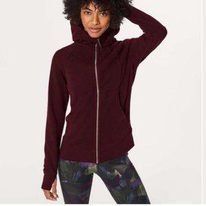 Lululemon hoodie purple plum size: 4